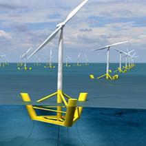 L éolienne flottante Winflo installée au large du Croisic en 2014 | Innovation & Développement Durable | Scoop.it