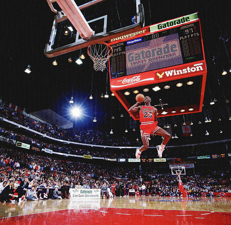 The Story Behind an Iconic Photograph of Michael Jordan in Flight   Digital-News on Scoop.it today   Scoop.it