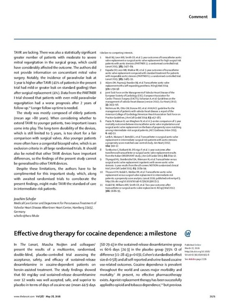 Effective drug therapy for cocaine dependence: a milestone - The Lancet | Partnering to support women who inject drugs | Scoop.it