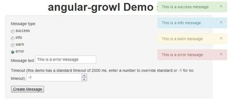 angular-growl :: growl-like notifications for angularJS projects | angularjs | Scoop.it