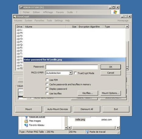 Chiffrement facile et rapide de vos données avec VeraCrypt | digitalcuration | Scoop.it