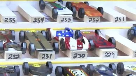 Pinewood Derby Championships Bring Boy Scout Racers to Times Square   Boy Scouts of America   Scoop.it