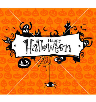 Halloween frame vector 261108 by azzzya | Royalty Free Vector Art, Vector Graphics & Clipart | VectorStock®.com | Curiosidades de la Red | Scoop.it