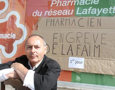 Auch. Le pharmacien Eric Milleret en grève de la faim - LaDépêche.fr   L'actualité pharmacie   Scoop.it