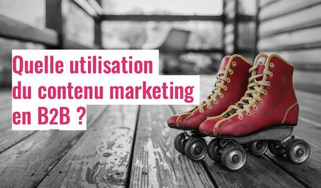 Quelle utilisation du contenu marketing en B2B ? B2B & Digital | #RP #Médias #Com #Mktg | Scoop.it