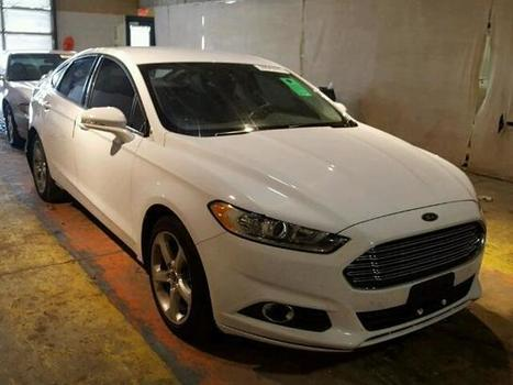 2014 white Ford Fusion Se on Sale in Indianapolis, IN | Online Auto Sale | Scoop.it