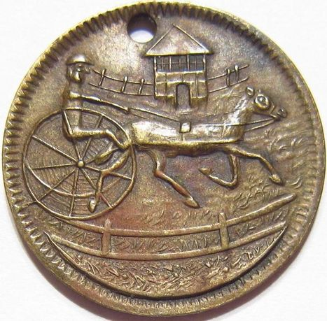 Antique 1800's China Chinese? RARE HARNESS RACING HONG KONG JOCKEY CLUB? Token | Coins Tokens & Medals | Scoop.it