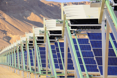 Robots clean Israeli solar panels without water | leapmind | Scoop.it