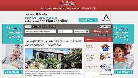 Le Figaro lance un nouveau portail 100% dédié à l'immobilier   Le marché de l'immobilier   Scoop.it