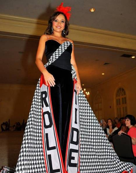 Miss Alabama Chandler Champion Has an Epic Roll Tide Dress For ... | dress | Scoop.it