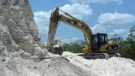 Bulldozers destroy Mayan pyramid in Belize | Bird Watching & Conservation In Belize | Scoop.it