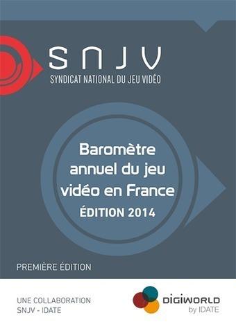 Baromètre annuel du Jeu Vidéo en France - 2014 | digital museum | Scoop.it