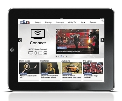 Tablette, smartphone: TF1 à l'assaut du second écran | formation reseaux sociaux, internet, logiciels | Scoop.it