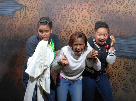 L E N S C R A T C H: What does Fear look like?   BEAUTY ART   Scoop.it
