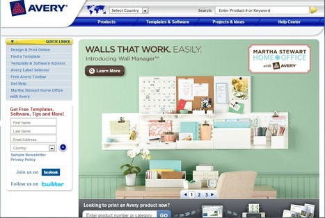 Office Supplies - Office Products & Labels | Avery | 21st Century Tools for Teaching-People and Learners | Scoop.it