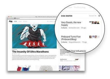 Avec Deeper, Digg relance son service de découverte de contenu social | Curating ... What for ?! | Scoop.it