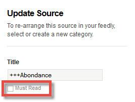 Using feedly's Must Read option to your advantage   RSS Circus : veille stratégique, intelligence économique, curation, publication, Web 2.0   Scoop.it