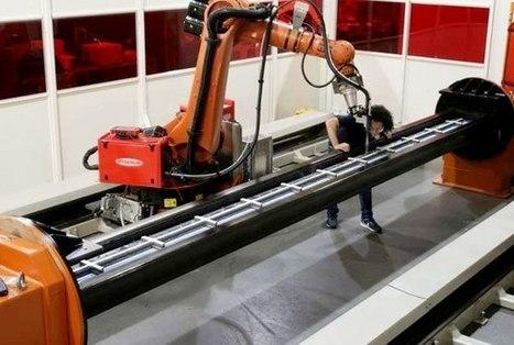 Une Université dévoile la plus grande pièce en métal imprimée en 3D ! | Univers cellule agile robotisée | Scoop.it