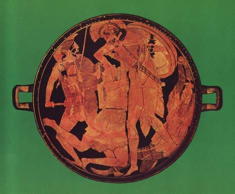 Achilles killing the Amazon Penthesileia | The Ancient Greek Hero | Scoop.it