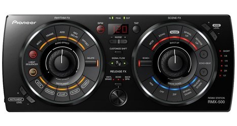 Review & Video: Pioneer Remix Station RMX-500 Effects Unit | DJing | Scoop.it
