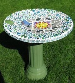 So long, Dish.  Hello, bird bath! | Upcycled Garden Style | Scoop.it