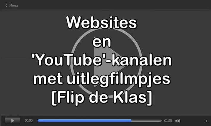 Edu-Curator: 22 Websites en 'YouTube'-kanalen met allerlei uitlegfilmpjes [Flip de Klas]   Edu-Curator   Scoop.it