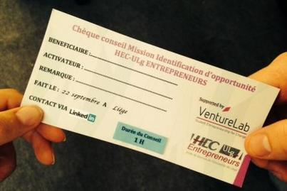 Le Soir.be ⎥L'ULg innove avec ses «chèques entrepreneurs» | L'actualité de l'Université de Liège (ULg) | Scoop.it