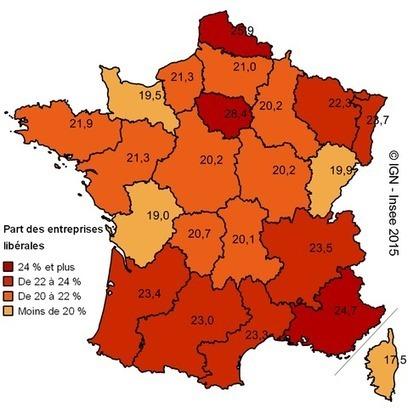 Insee > 35400 entreprises «libérales» dans la région | Observer les Pays de la Loire | Scoop.it
