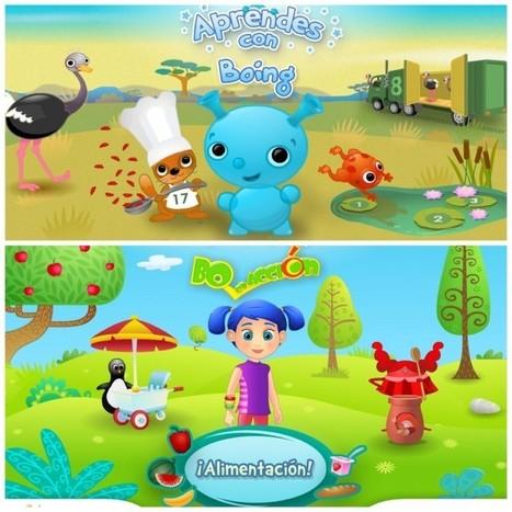 Four Spanish Apps for Preschoolers - | Español para los más pequeños | Scoop.it