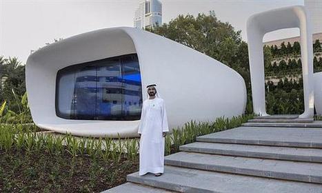 Dubaï dévoile les premiers bureaux imprimés en 3D ! | Objets connectés : Domotique ... Au quotidien | Scoop.it