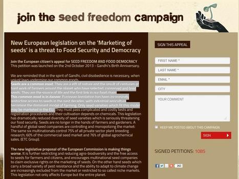 Le domaine public des semences : un trésor menacé | domaine public | Scoop.it