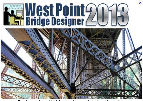 Logiciel gratuit West Point Bridge Designer 2013 licence gratuite Conception de Ponts virtuels | Les bons plans de la petite entreprise | Scoop.it