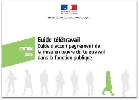 Guide d'accompagnement du télétravail dans la fonction publique | Zevillage | Le télétravail | Scoop.it