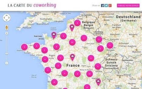 Trouvez votre futur bureau avec la carte du coworking | My Startup in Paris | La Matrice | Scoop.it