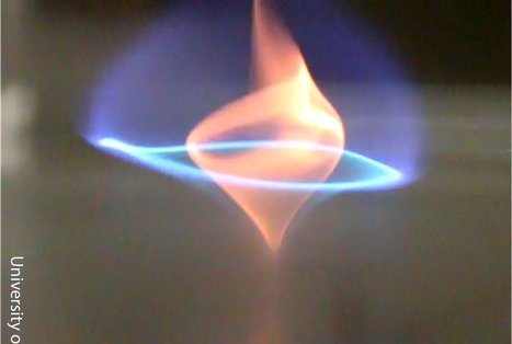 Researchers Discover the Blue Whirl, a New Type of Flame   Science, Space, and news from 'out there'   Scoop.it