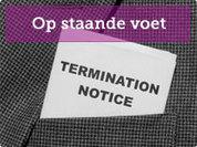 Ontslag op staande voet - Advocaat - Ontslag, Echtscheiding, Conflict | Ontslag | Scoop.it