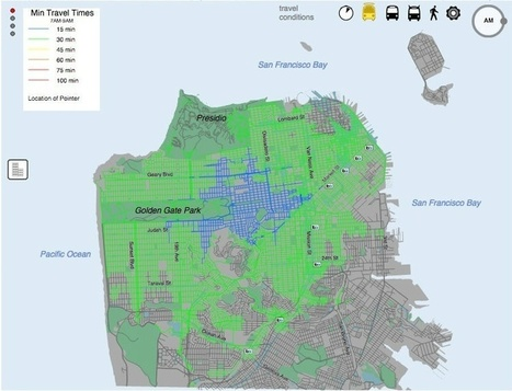 Every City Should Have Something Like San Francisco's Mass Transit Access Map | Peer2Politics | Scoop.it