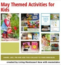 May Themed Activities for Kids | Montessori Inspired | Scoop.it