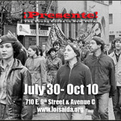 Support PRESENTE! Young Lords in New York Loisaida Exhibit   Social Art Practices   Scoop.it