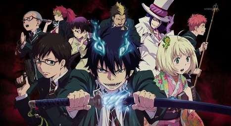 Blue Exorcist, l'anime aura une saison 2 - le Dojo Manga   Actualité: Manga et Anime   Scoop.it