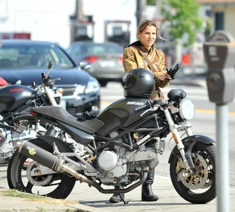 Ducati Monster Sr Gal Gadot