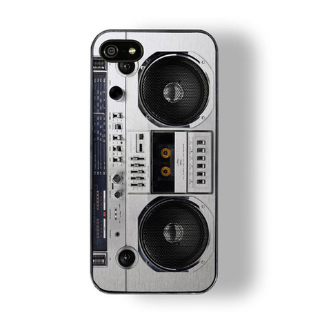 iPhone 5 Boombox Case | All Geeks | Scoop.it