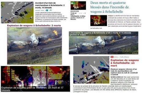 Explosion à Schellebelle : du nombre de morts dans les titres de presse | Média et société | Scoop.it