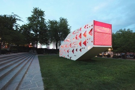[ Montreal, Quebec, Canada] Tisse Métis Égal / PLUX.5   The Architecture of the City   Scoop.it