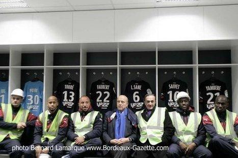Les Girondins en visite dans leur futur stade | Bordeaux Gazette | Scoop.it