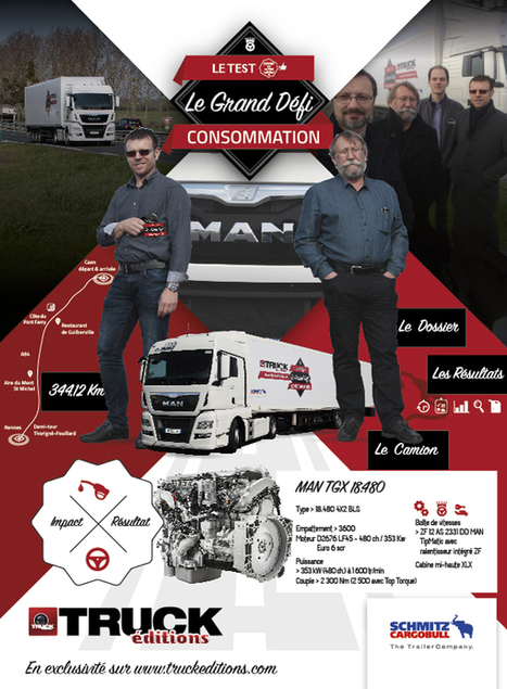 LE 4ème GRAND DEFI CONSOMMATION – Avril 2016 - truck Editions | Truckeditions | Scoop.it