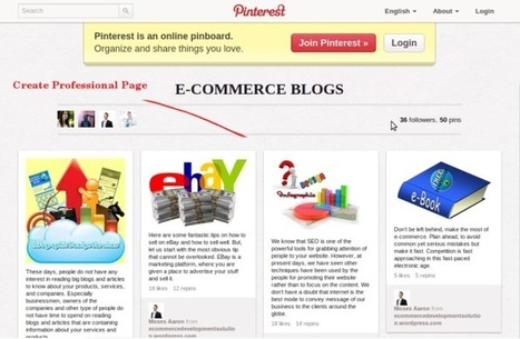 Hidden Advantages of Pinterest for Ecommerce Service | Pinterest for Business | Scoop.it