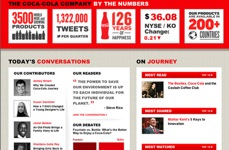 It's the Journey That Matters: Coca-Cola Opens Up With Story-Based Web Refresh   Storybuzzing   Scoop.it