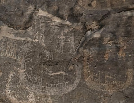 Oldest Known Depiction of Pharaoh Found : Discovery News | Heathers Scoop | Scoop.it