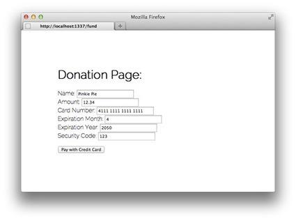 So You Wanna Build a Crowdfunding Site? | javascript node.js | Scoop.it